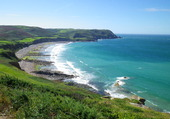 La baie d'Ecalgrain (Cotentin)