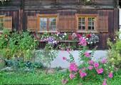 Chalet fleuri en Autriche
