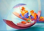 marche flottant