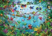 Puzzle les oiseaux du paradis