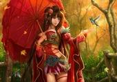 Fantasy oriental Girls