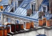 Puzzle Les toits de Paris