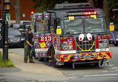 camion de pompier de montreal