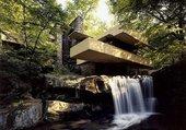 La maison sur la cascade
