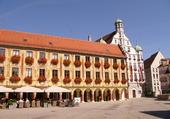 Belle façade en Allemagne