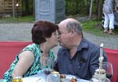 moi et mon épouse a une fête