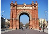 L'Arc de Triomphe de Barcelone