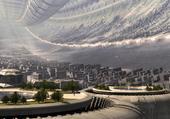 Future city scape