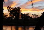 Lever de soleil sur Samburu