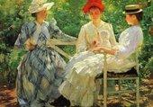 les trois soeurs-Tarbell edmund charles