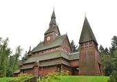 église en bois dans le Harz