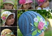 joli chapeaux tricoté main