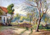 Cottage et jardin