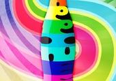 publicité colorée