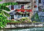 Borghetto au nord de l'Italie