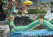 Le dragon turquoise