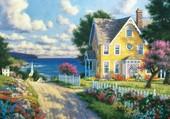 Puzzle jolie maison