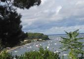 Le Bassin d'Arcachon en été