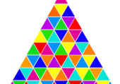 Triangle couleur