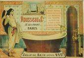 Affiche salle de bain Rousseau
