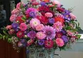 Bouquet aux tons pastels