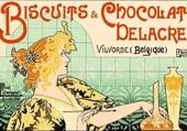 biscuits et chocolat delacre
