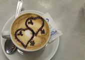 Cappuccino fait avec Amour