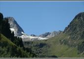 Le glacier en été
