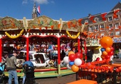 Puzzle Jour du roi à Haarlem (Hollande)