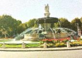 Fontaine de la Rotonde façon Peintre