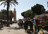 marrakech, mosquée la Koutoubia