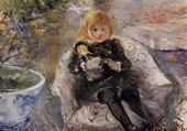 Enfant avec sa poupée