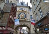 Rouen, rue du gros Horloge.