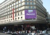 Angle de rue à Paris