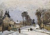 Route de Versailles à Louveciennes