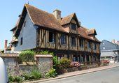 Maison normande typique