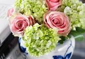 bouquet en vase par hélène