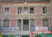 façade au Népal