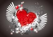 Puzzle love you ... coeur d'amour