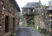 Le village d'Espalion
