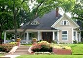 Puzzle Une belle maison aux Etats-Unis