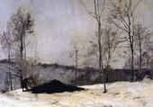 Charbonnier en hiver