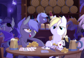 Night with the Bat Ponies