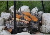 Barbecue chez nos amis