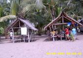 Plage à Barugo/Leyte/Philippines