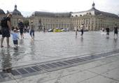 Bain de pieds à Bordeaux