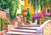 Puzzle un petit coin de provence
