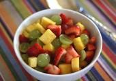 Une salade de fruits frais