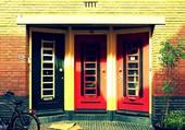 Une maison colorée à Alkmaar