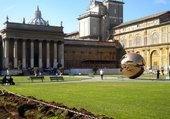 Le jardin intérieur du Musée du Vatican